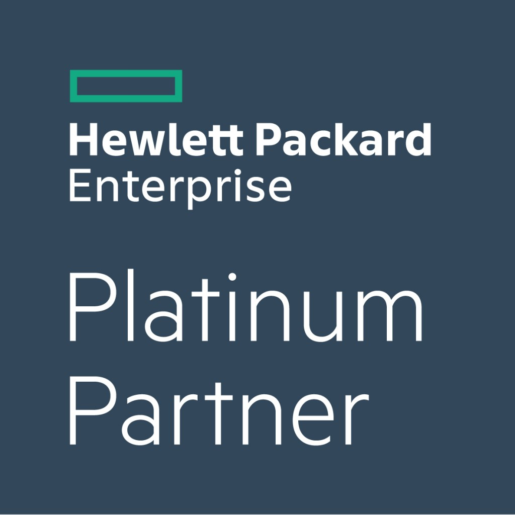Hewlett Packard Platinum Partner Badge